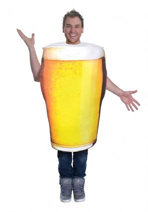 Pint Of Beer Funny Fancy Dress Costume
